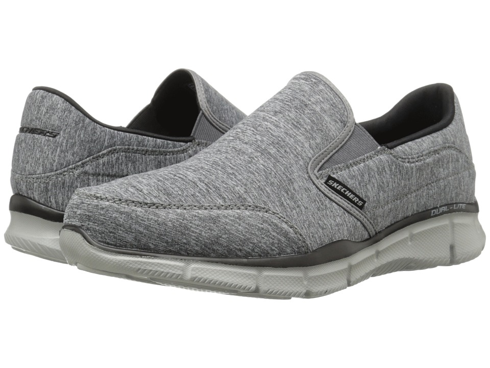 SKECHERS - Equalizer Forward Thinking (Gray/Black) Men