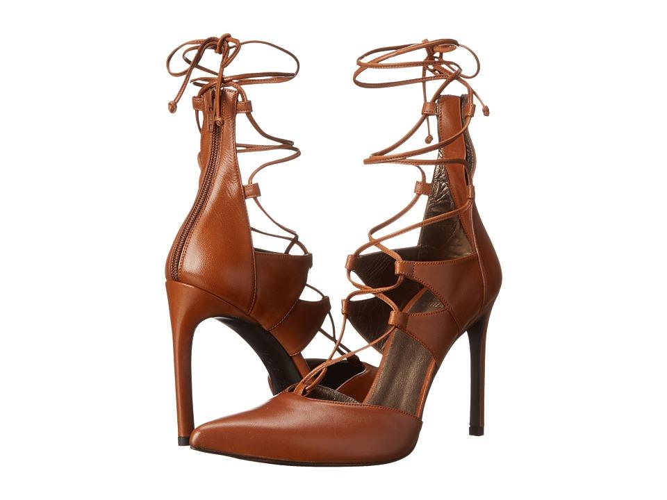 Stuart Weitzman - Strungup (Cognac Nappa) Women's Shoes