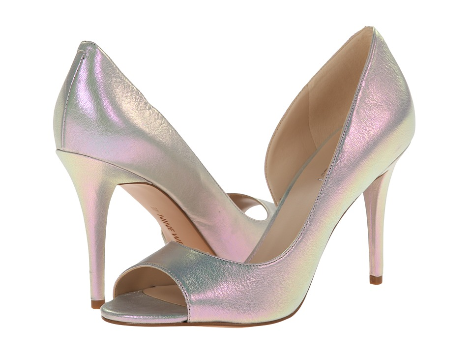Nine West - Dorey (Silver Metallic) High Heels