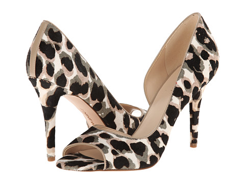 Nine West - Dorey (Taupe Multi/Taupe Pony) High Heels