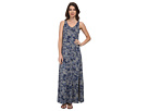 DKNY Jeans Star Floral Printed Maxi Dress