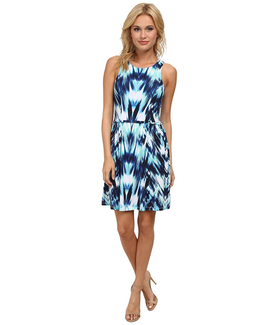 Tart - Lorenza Dress (Ocean Chevron) Women