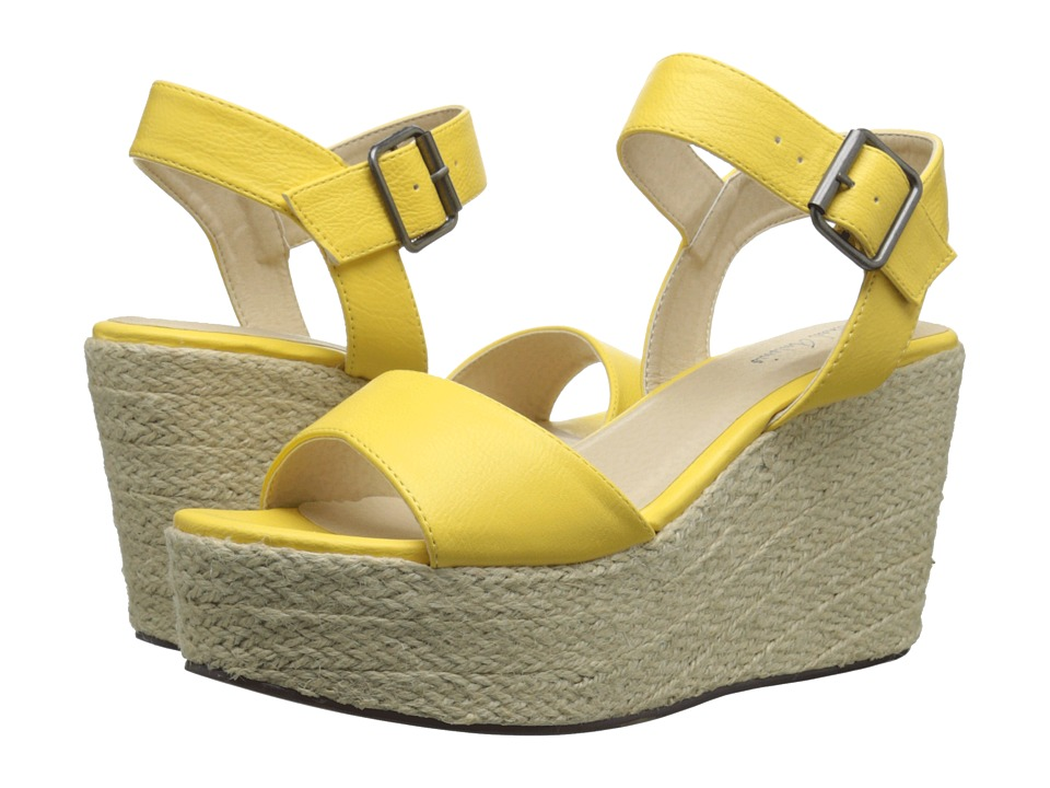 Michael Antonio - Antee (Yellow) Women's Wedge Shoes