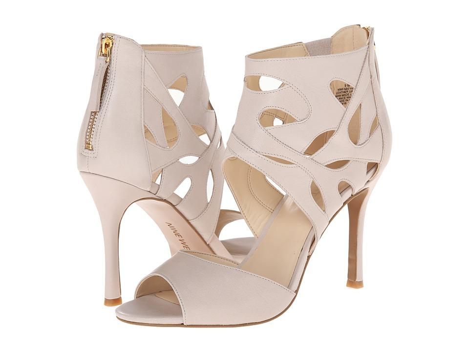 Nine West - Fabeyana (Light Grey Leather) High Heels