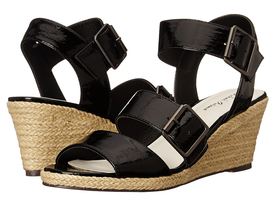 Michael Antonio - Goren (Black) Women's Wedge Shoes