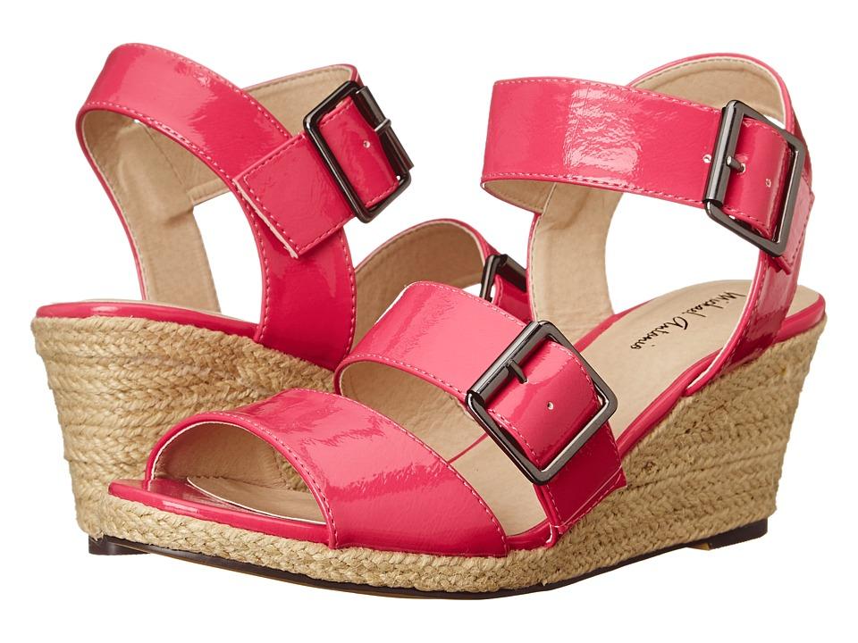 Michael Antonio - Goren (Fuchsia) Women's Wedge Shoes