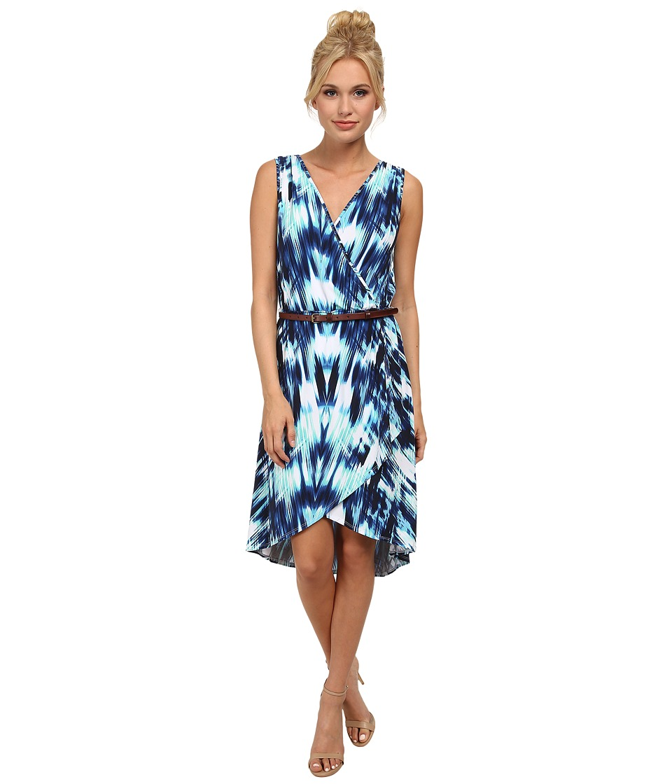 Tart - Cambria Dress (Ocean Chevron) Women