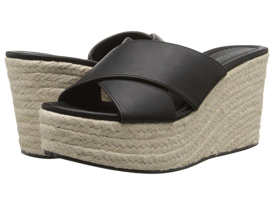 Michael Antonio - Gisel (Black) Women's Wedge Shoes
