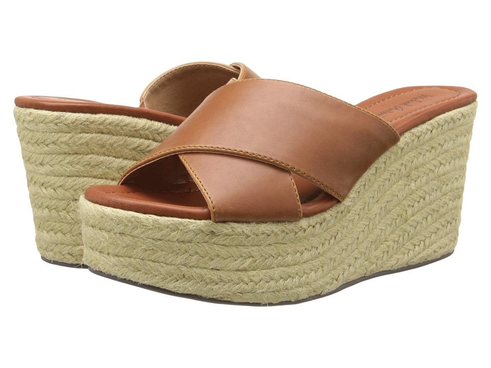 Michael Antonio - Gisel (Cognac) Women's Wedge Shoes