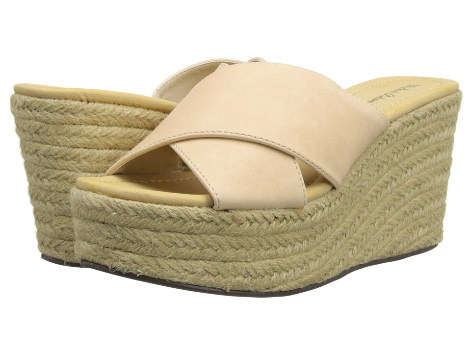 Michael Antonio - Gisel (Natural) Women's Wedge Shoes
