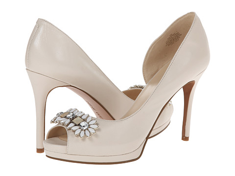 Nine West - Finest (Off White Leather) High Heels