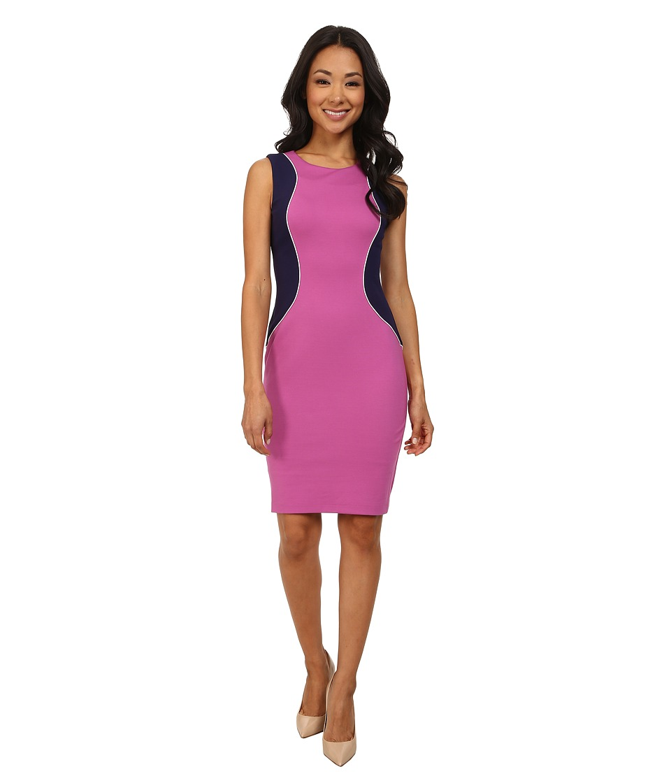 NYDJ - Abigail Ponte Contour Dress (Passion Fruit) Women's Dress