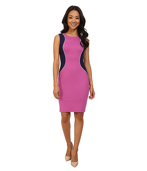 NYDJ - Abigail Ponte Contour Dress (Passion Fruit) Women