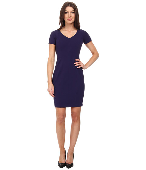 NYDJ - Stretch Crepe Dress (Midnight) Women