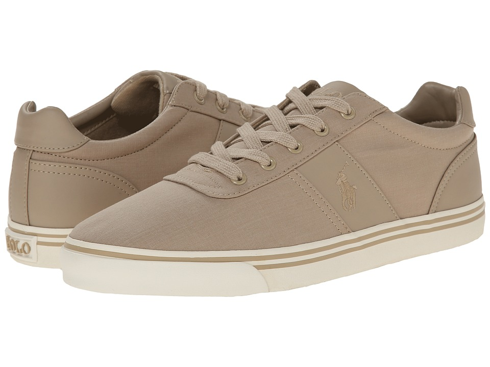 Polo Ralph Lauren - Hanford (Khaki Heathered Ripstop) Men's Lace up casual Shoes