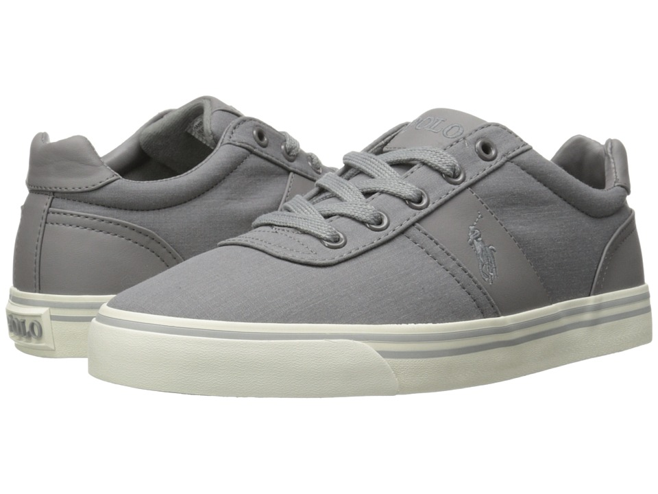 Polo Ralph Lauren - Hanford (Basic Grey Heathered Ripstop) Men's Lace up casual Shoes