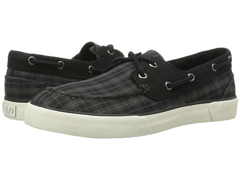 Polo Ralph Lauren - Lander (Black/Green Saphire Plaid) Men