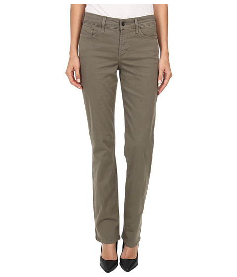 NYDJ - Hayley Straight (Dark Olive) Women