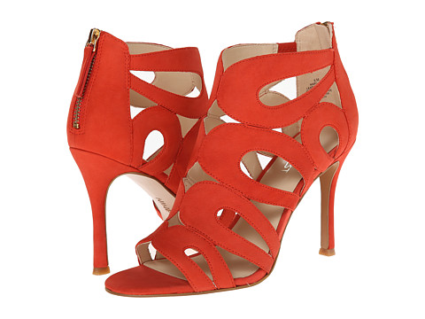 Nine West - Flora (Orange Nubuck) High Heels