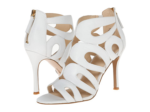 Nine West - Flora (White Leather) High Heels