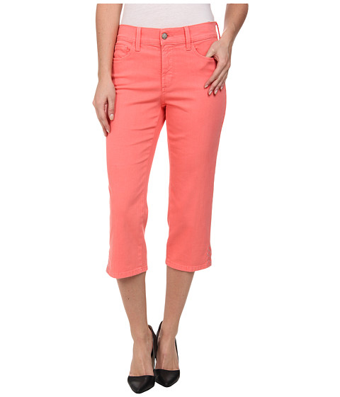 NYDJ - Ariel Crop (Bright Melon) Women's Capri