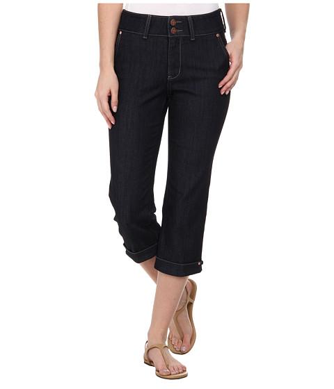 NYDJ - Kasia Crop - Hem Novelty Clasp (Dark Enzyme) Women's Jeans