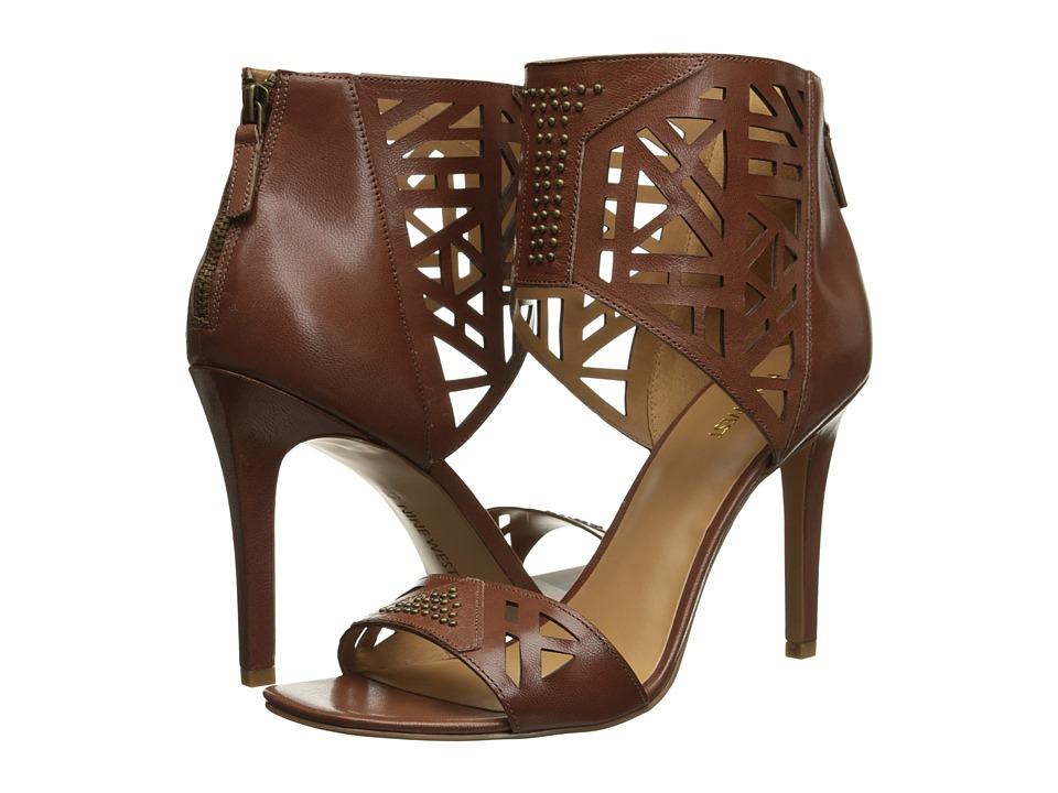 Nine West - Karabee (Brown Leather) High Heels