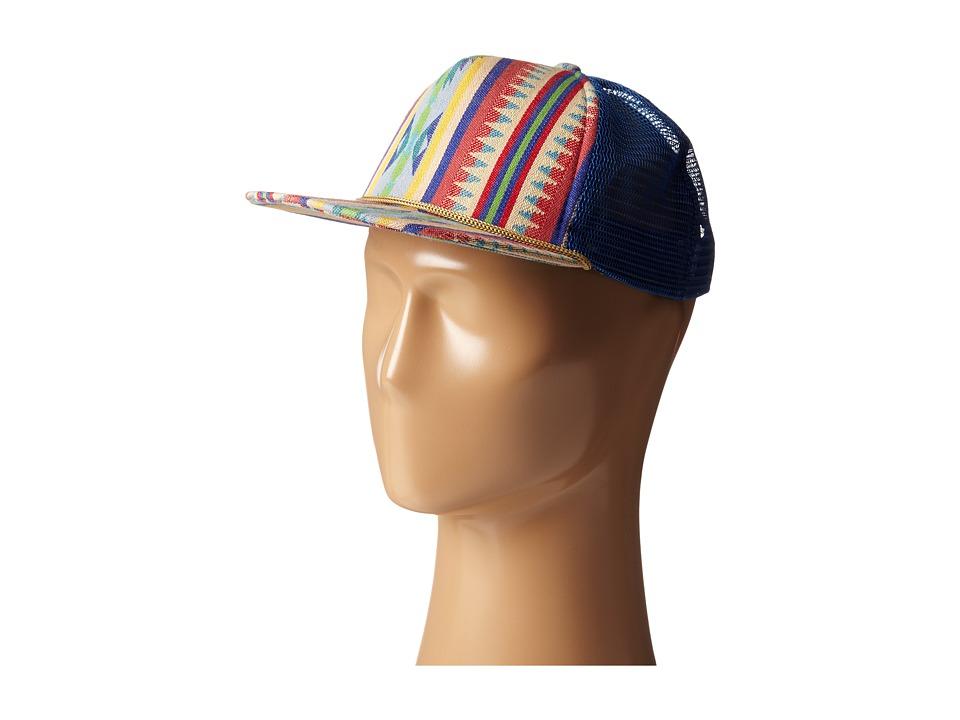 San Diego Hat Company Kids - CTK3452 Tribal Trucker Hat (Little Kids) (Tribal) Caps