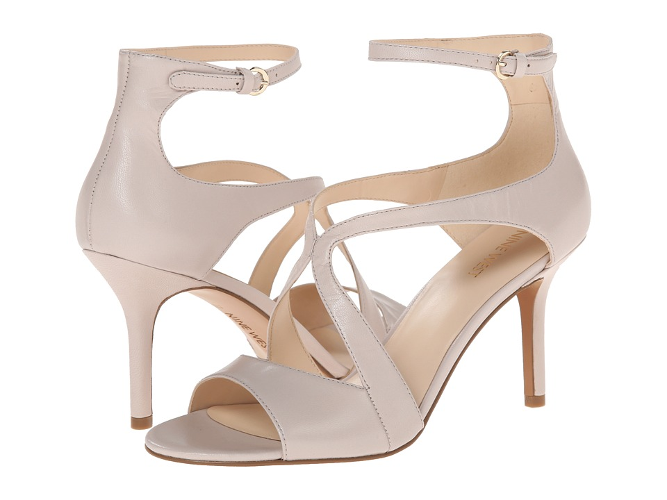 Nine West - Gerbera (Light Grey Leather) High Heels