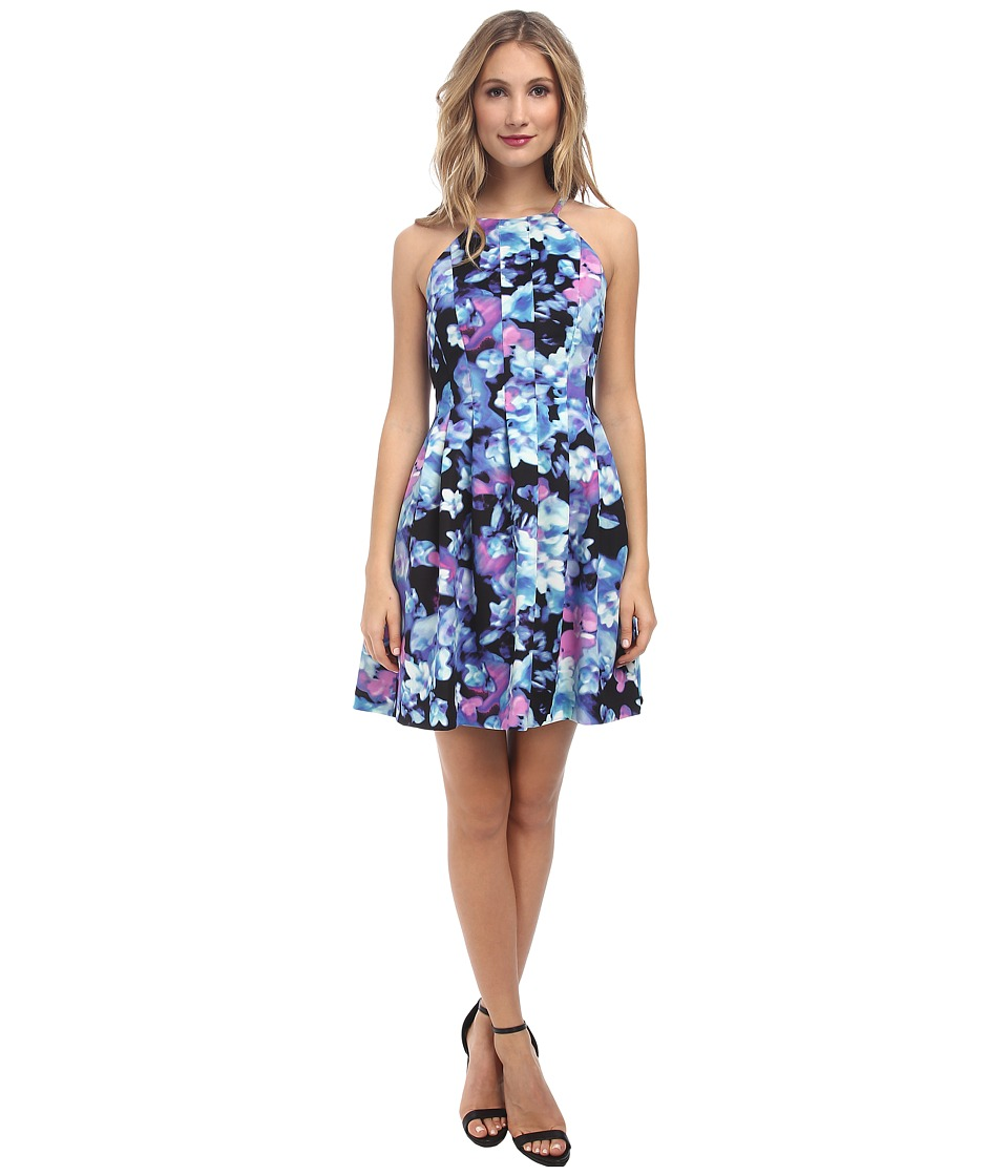 Vince Camuto Fit and Flare w/ Cut in Bodice (Multi) Women