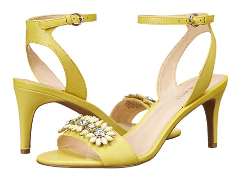 Nine West - Jenetter (Yellow Leather) High Heels