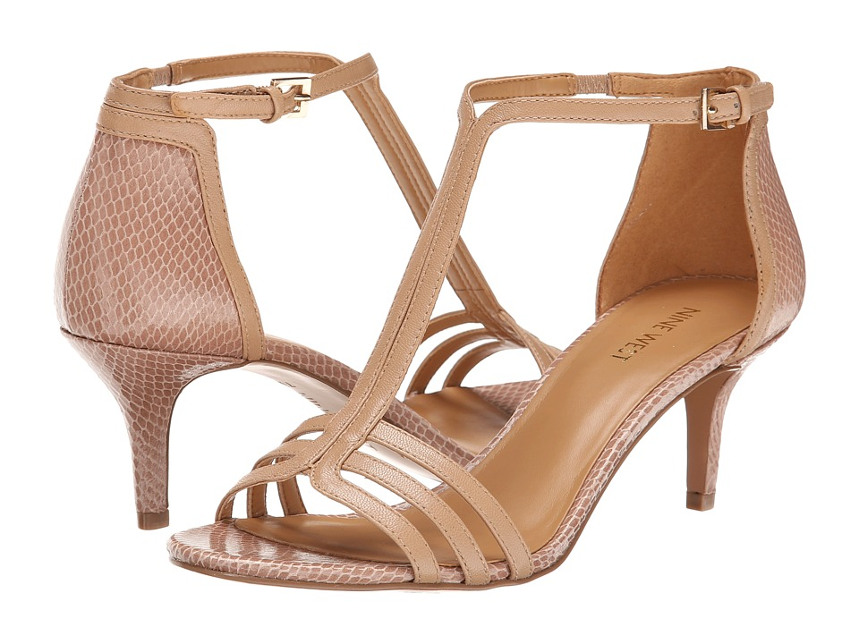 Nine West - Gohome (Light Natural/Light Natural Leather) High Heels