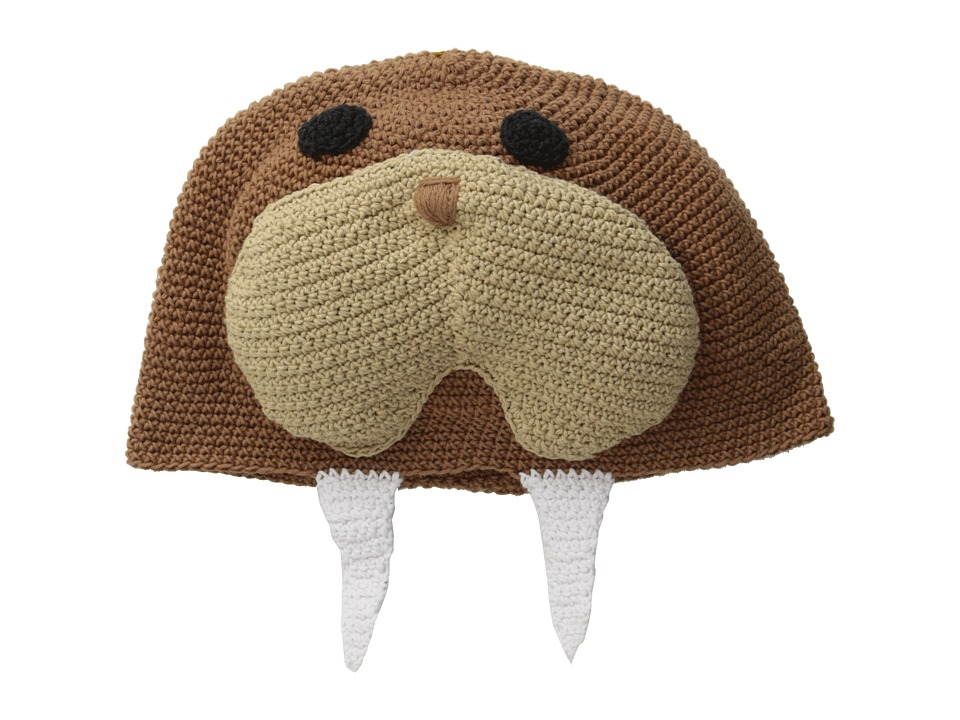 San Diego Hat Company Kids - DL2496 Crochet Walrus Beanie (Walrus) Beanies