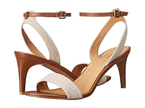 Nine West - Jazz (Natural/Brown Fabric) High Heels