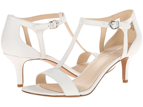Nine West - Grand (White Leather) High Heels