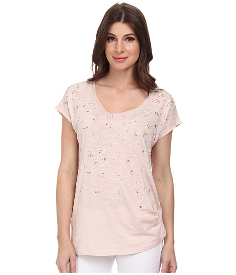 DKNY Jeans - Embellished Tunic Top (Sugar) Women