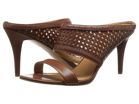 Nine West - Incident (Brown/Dark Brown Leather) High Heels