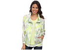 DKNY Jeans Paint Splash Print Bomber Jacket
