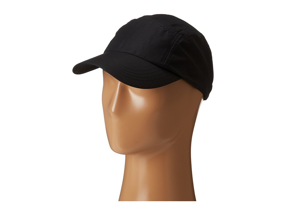 San Diego Hat Company - CTH3533 5 Panel Athletic Ball Cap (Black) Caps