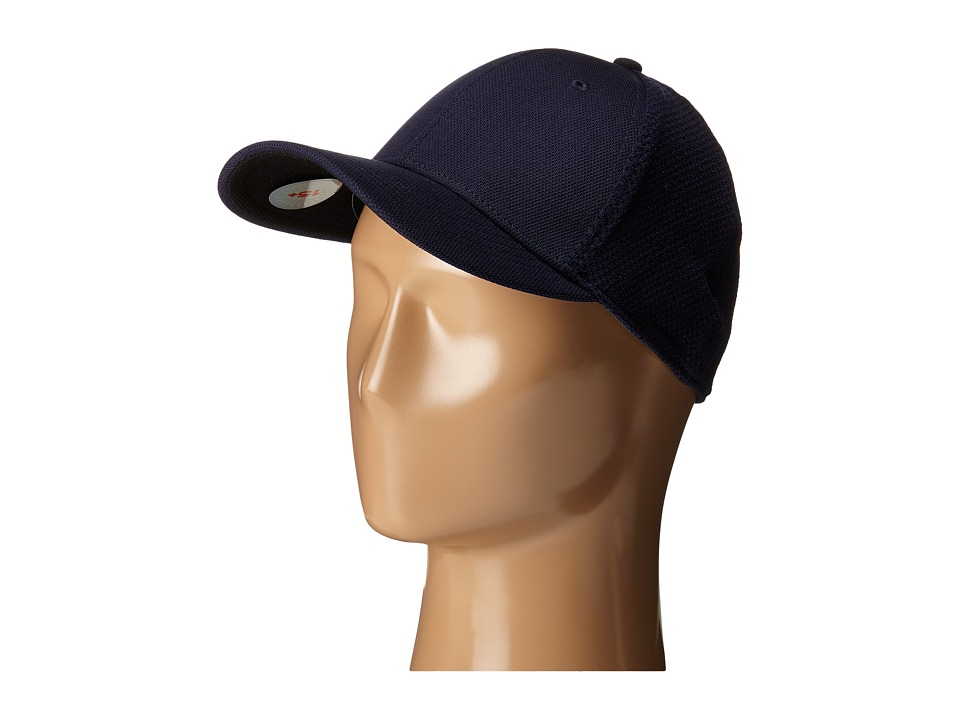 San Diego Hat Company - CTH3529 Ball Cap w/ Stretch Fit Mesh Back (Navy) Caps