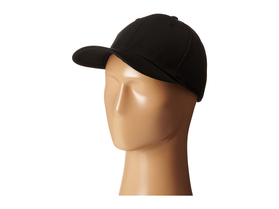 San Diego Hat Company - CTH3531 Ball Cap w/ Stretch Fit (Black) Caps