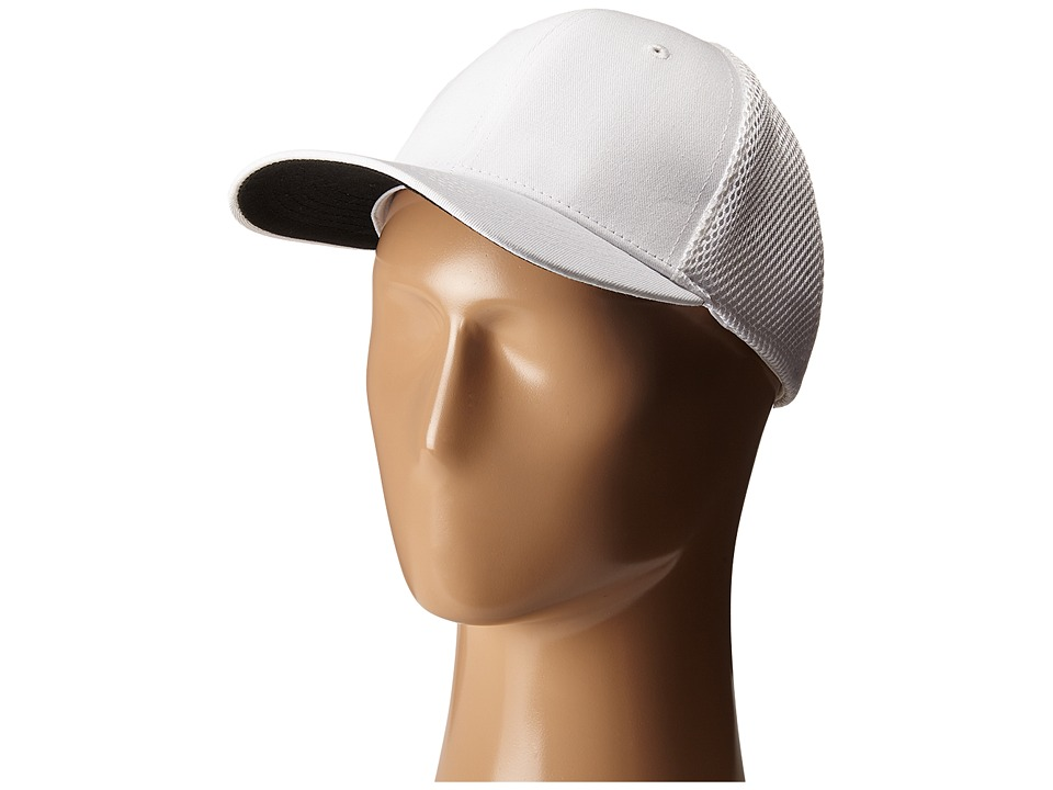 San Diego Hat Company - CTH3531 Ball Cap w/ Stretch Fit (White) Caps