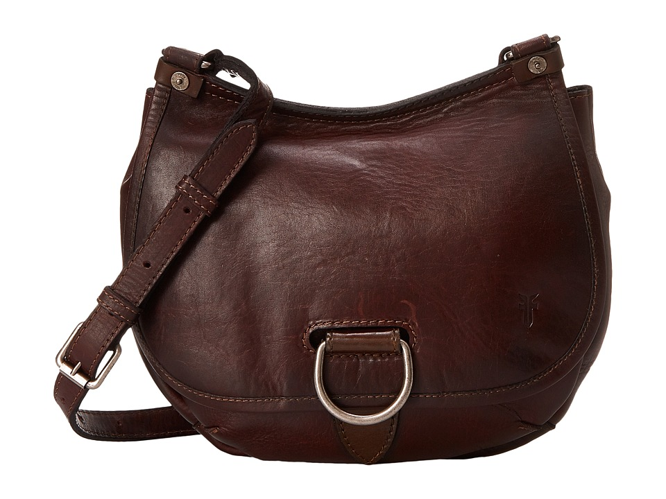 Frye - Amy Crossbody (Burgundy Oiled Vintage Leather) Cross Body Handbags