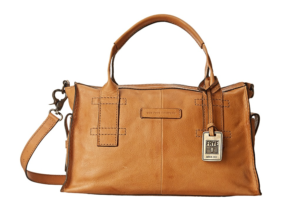 Frye - Artisan Zip Satchel (Natural Hammered Full Grain) Satchel Handbags
