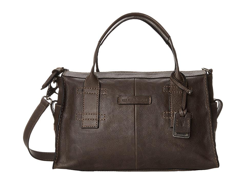 Frye - Artisan Zip Satchel (Slate Hammered Full Grain) Satchel Handbags