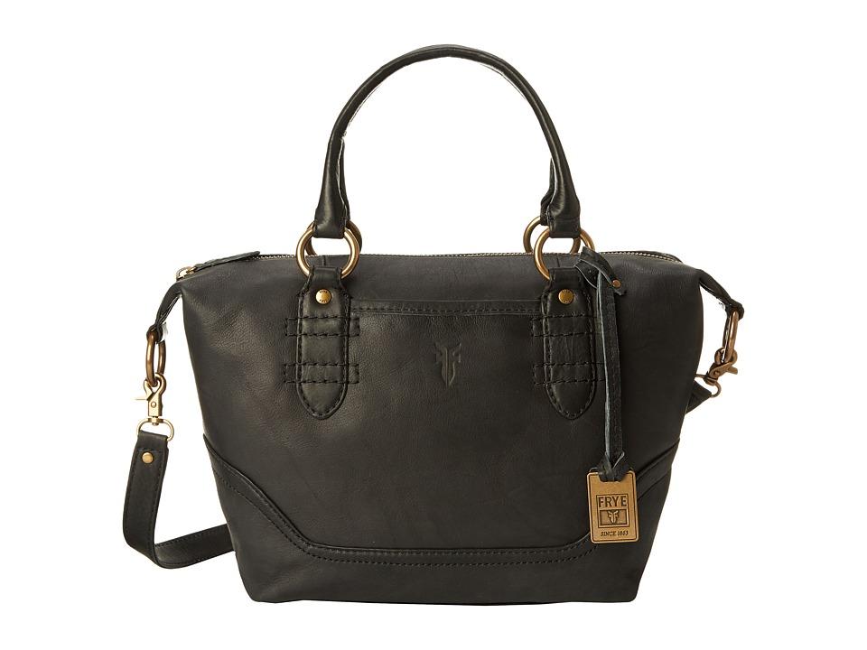 Frye - Campus Zip Satchel (Black Dakota) Satchel Handbags