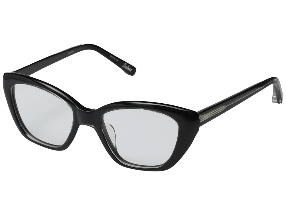 Elizabeth and James - Selma (Shiny Crystal/Black Lamination) Fashion Sunglasses