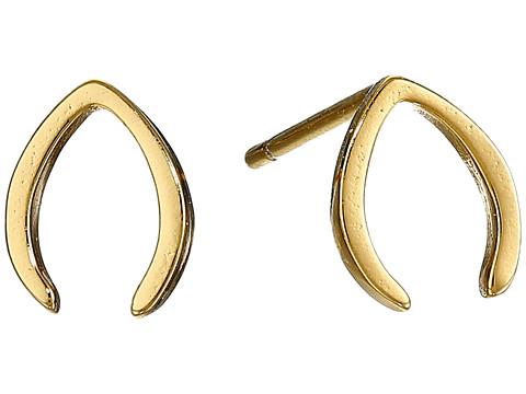 gorjana - Gisele Stud Earrings (Gold) Earring