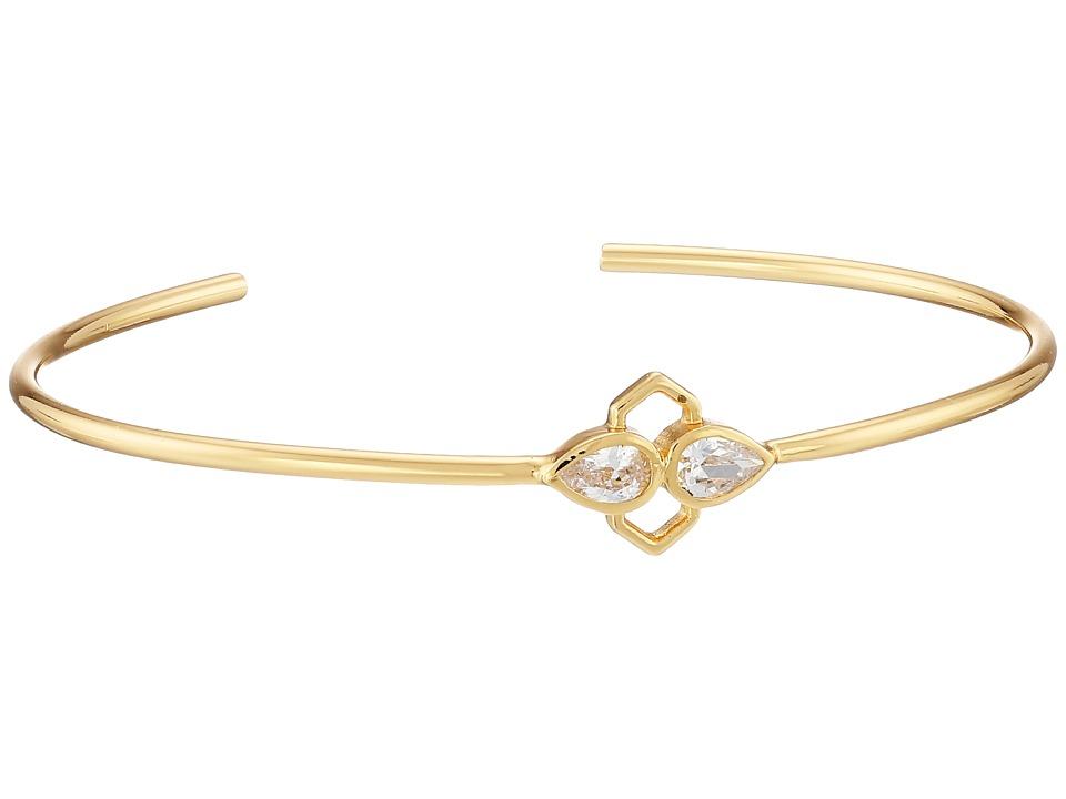 gorjana - Blakely Crest Cuff Bracelet (Gold) Bracelet