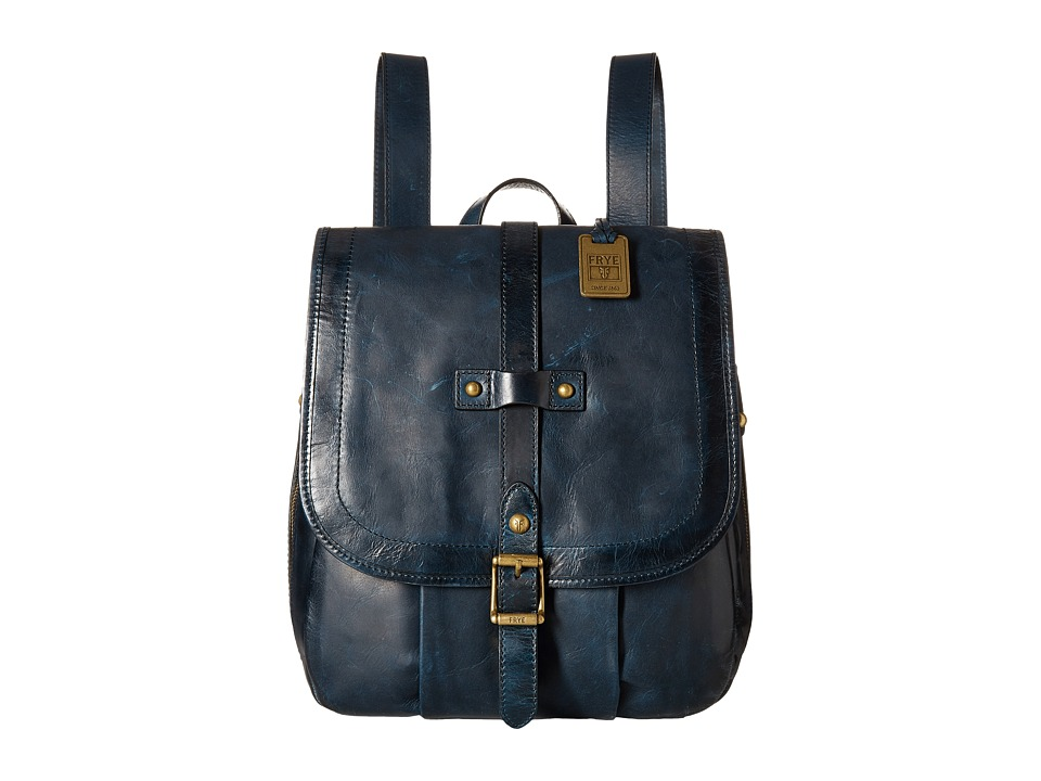 Frye - Parker Backpack (Navy Antique Pull Up) Backpack Bags